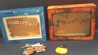 ハロウインとクリスマスの箱