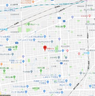 Okayama地図
